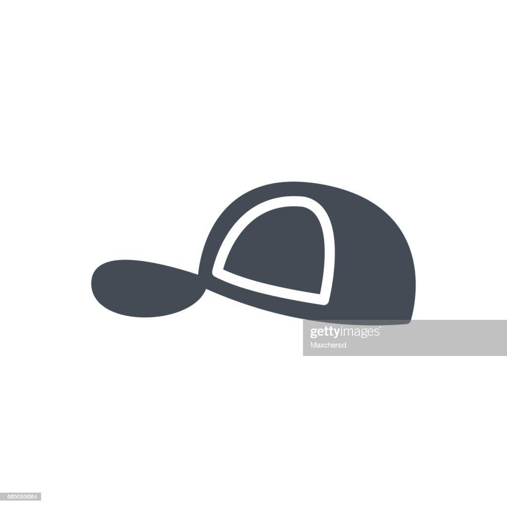 25e1227f829cd Accessories Silhouette Icon Men Women Hat Cap stock vector - Getty ...