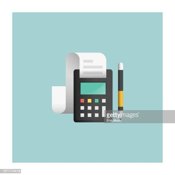 accounting icon - financial advisor stock illustrations