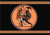 Achilles kills Hector