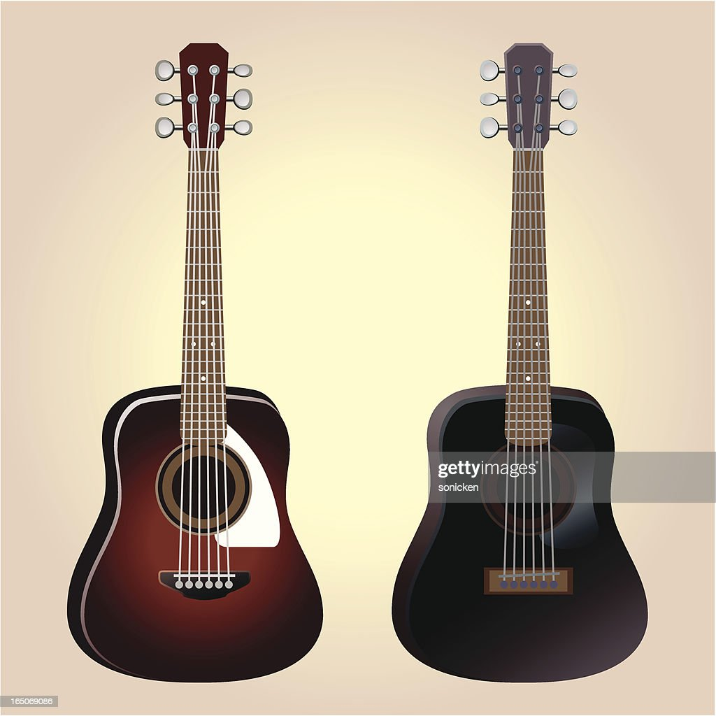 Acoustic Guitar Vector Art Getty Images