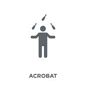 Acrobat icon from Circus collection.