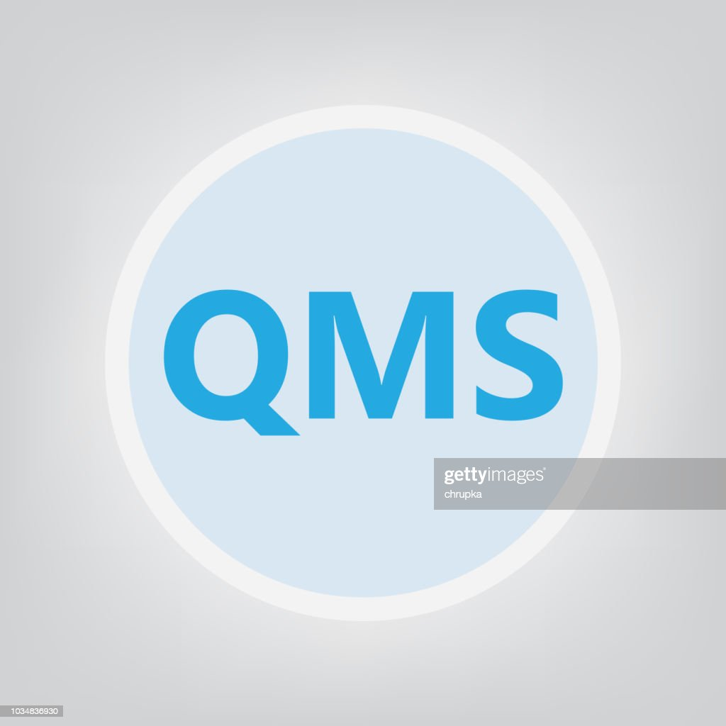 QMS (Quality management system) acronym
