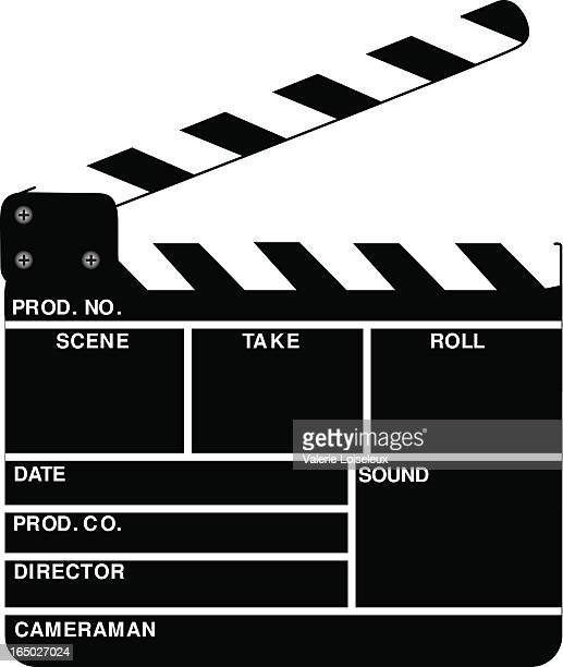 action board (eps) - producer stock illustrations, clip art, cartoons, & icons