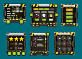 Action Game User Interface Pack