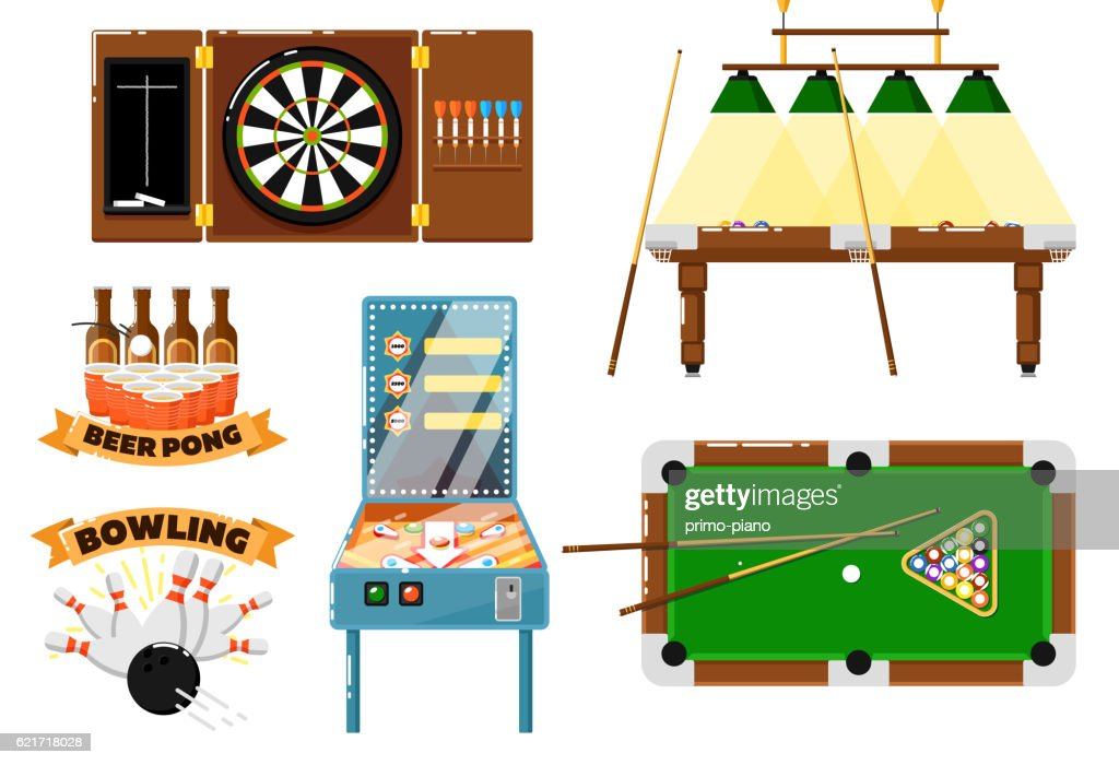 Pool Table Clipart Side View Darmowe Pinball Game Obrazy I Pakiety Zdj