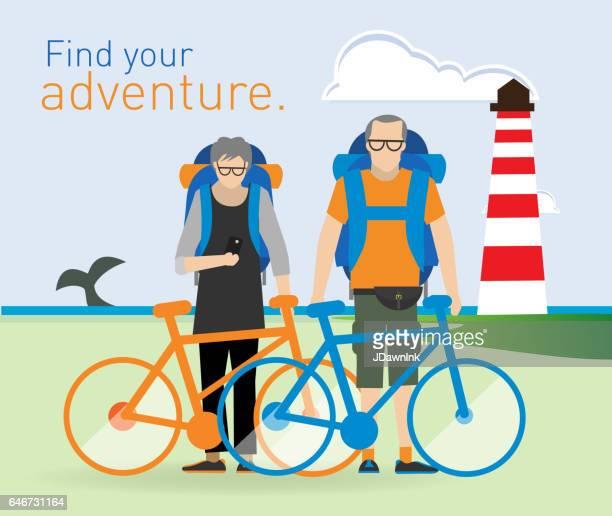 Actieve senioren op avontuur