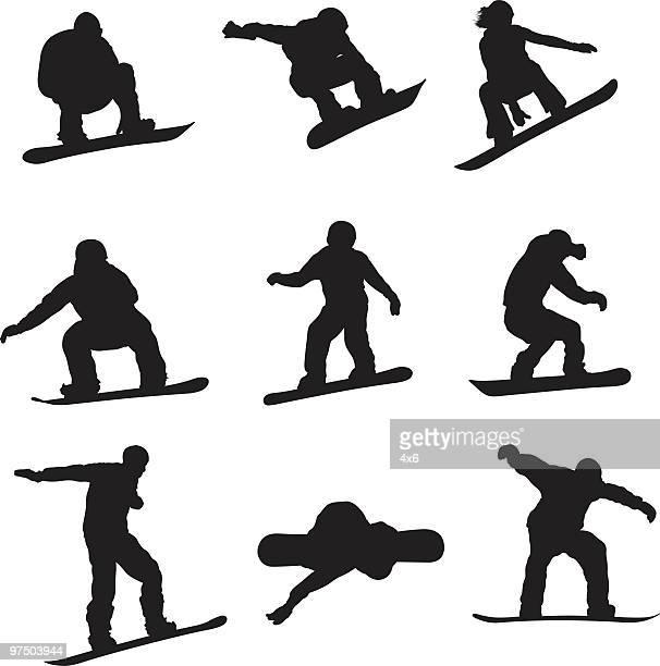 Active Snowboarders