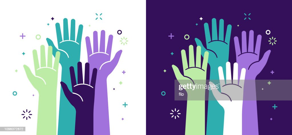 Activism Social Justice and Volunteering : Stock Illustration
