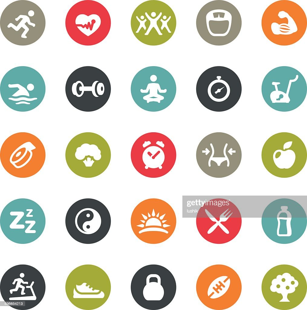 Activity and Sport related icons / Ringico series : stock illustration