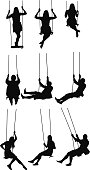 Activity on the swing