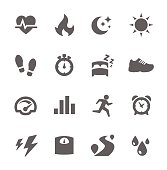 Activity Tracking Icons