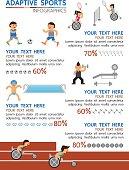 Adaptive sport infographic