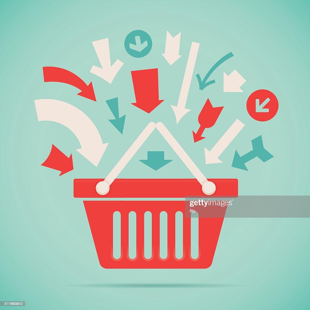 Add to Basket : stock illustration