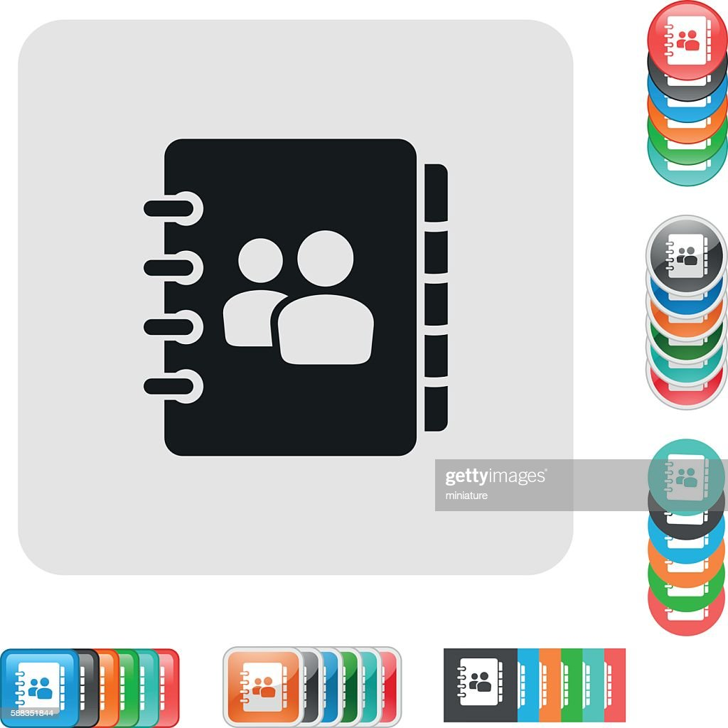 Address Book Icons