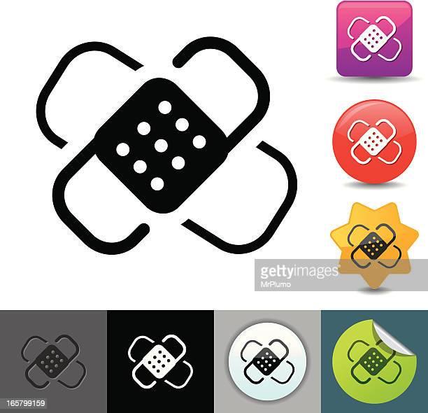 Adhesive bandage icon | solicosi series