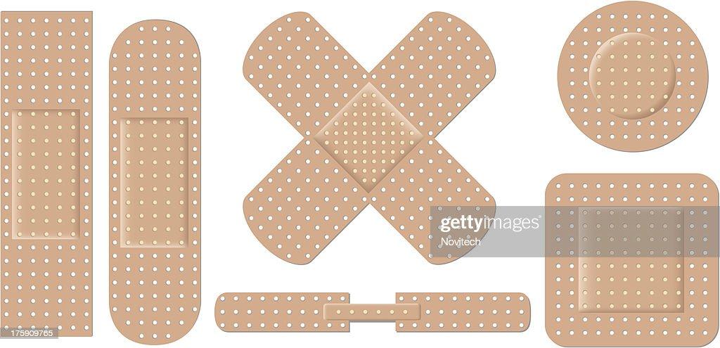 Adhesive bandage set eps8