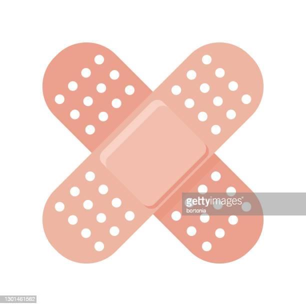 接着包帯ワクチンアイコン - 包帯点のイラスト素材/クリップアート素材/マンガ素材/アイコン素材