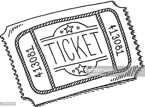 Eintrittskarte-Zeichnung