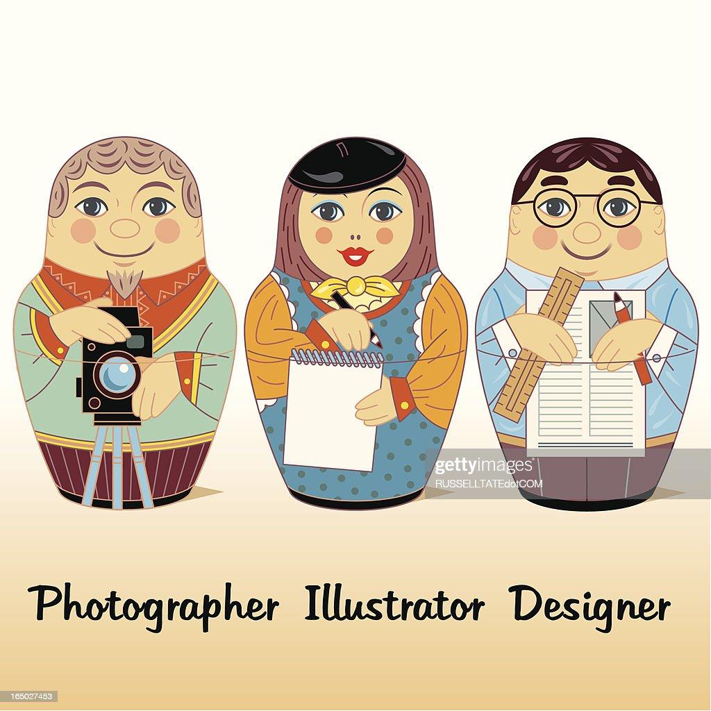 Adobe Russian Dolls