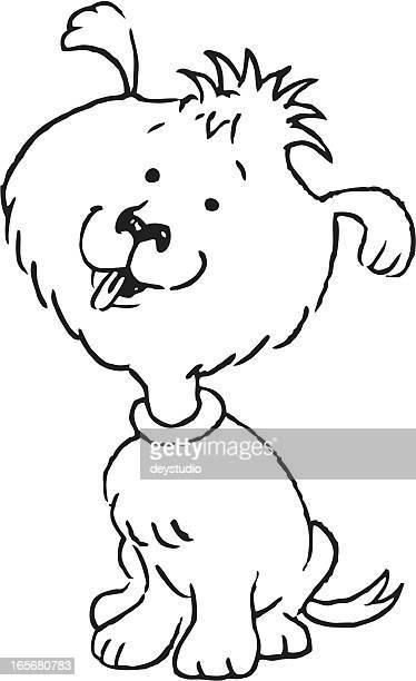Adorable Dog Sketch