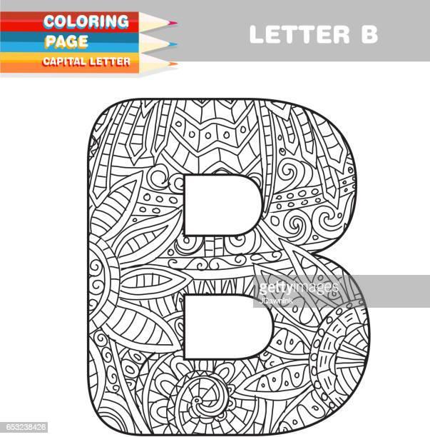 Ilustraciones de Stock y dibujos de Capital Letter | Getty Images