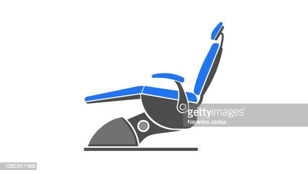advanced dentist chair - dental drill stock illustrations