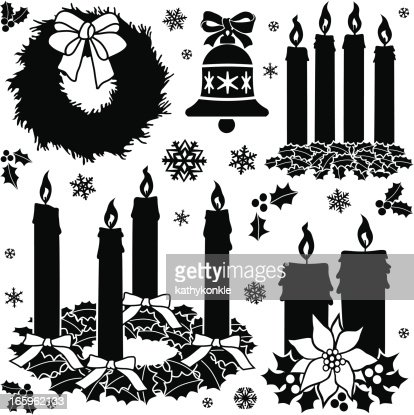 Advent Design Elements Vector Art Getty Images