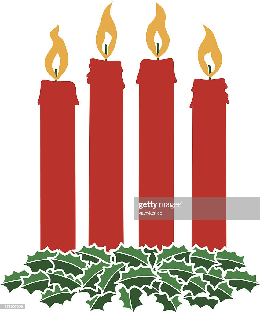 Advent wreath vector art getty images advent wreath vector art buycottarizona Image collections