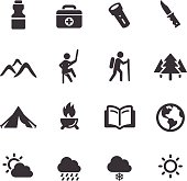 Adventure and Camping Icons - Acme Series