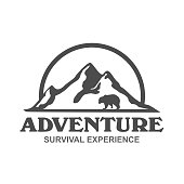 Adventure and outdoor icon vector