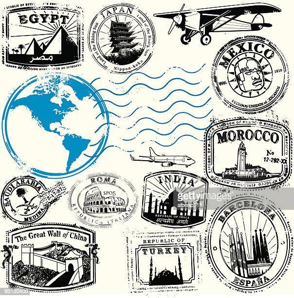 adventure awaits - morocco stock illustrations, clip art, cartoons, & icons