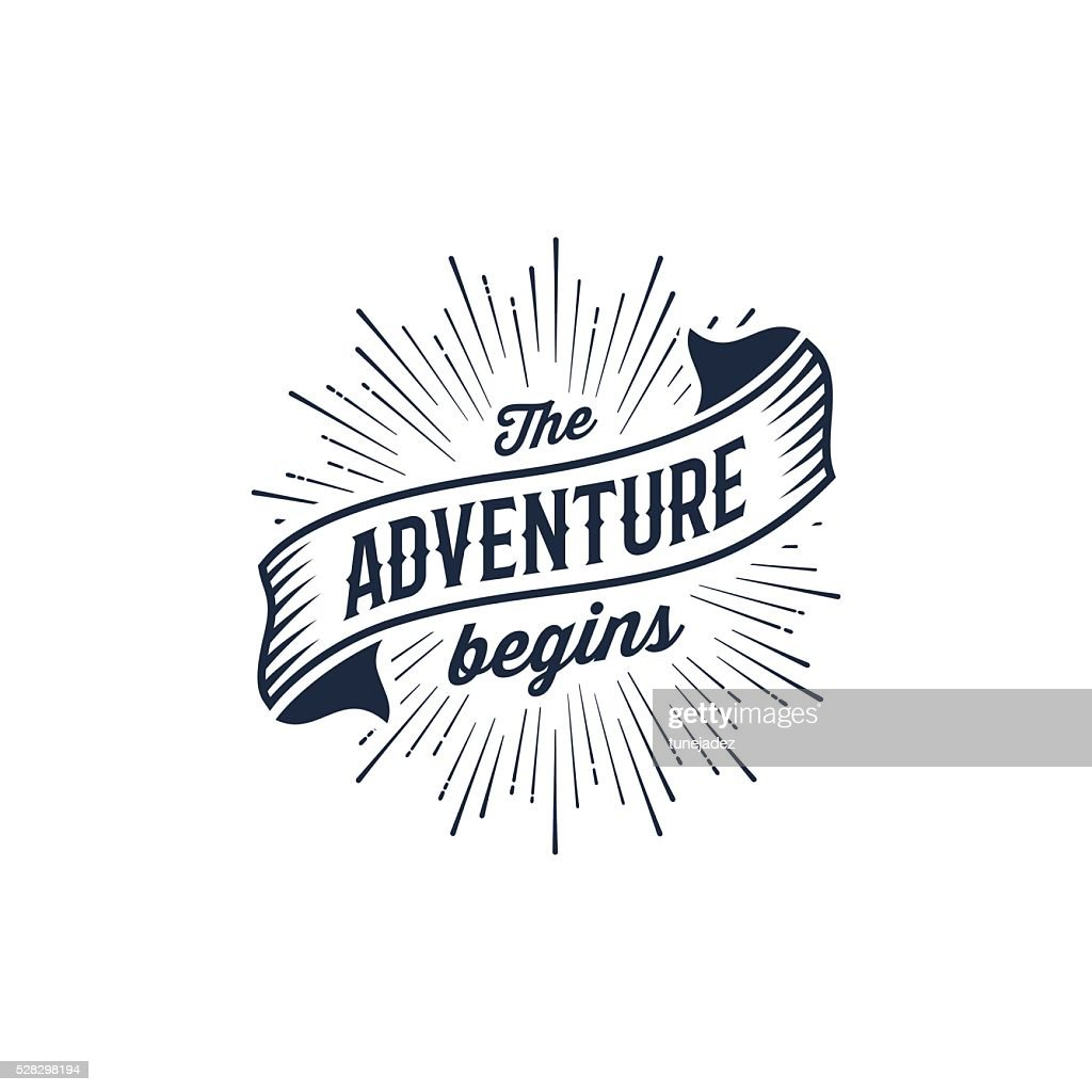 Adventure begins blue