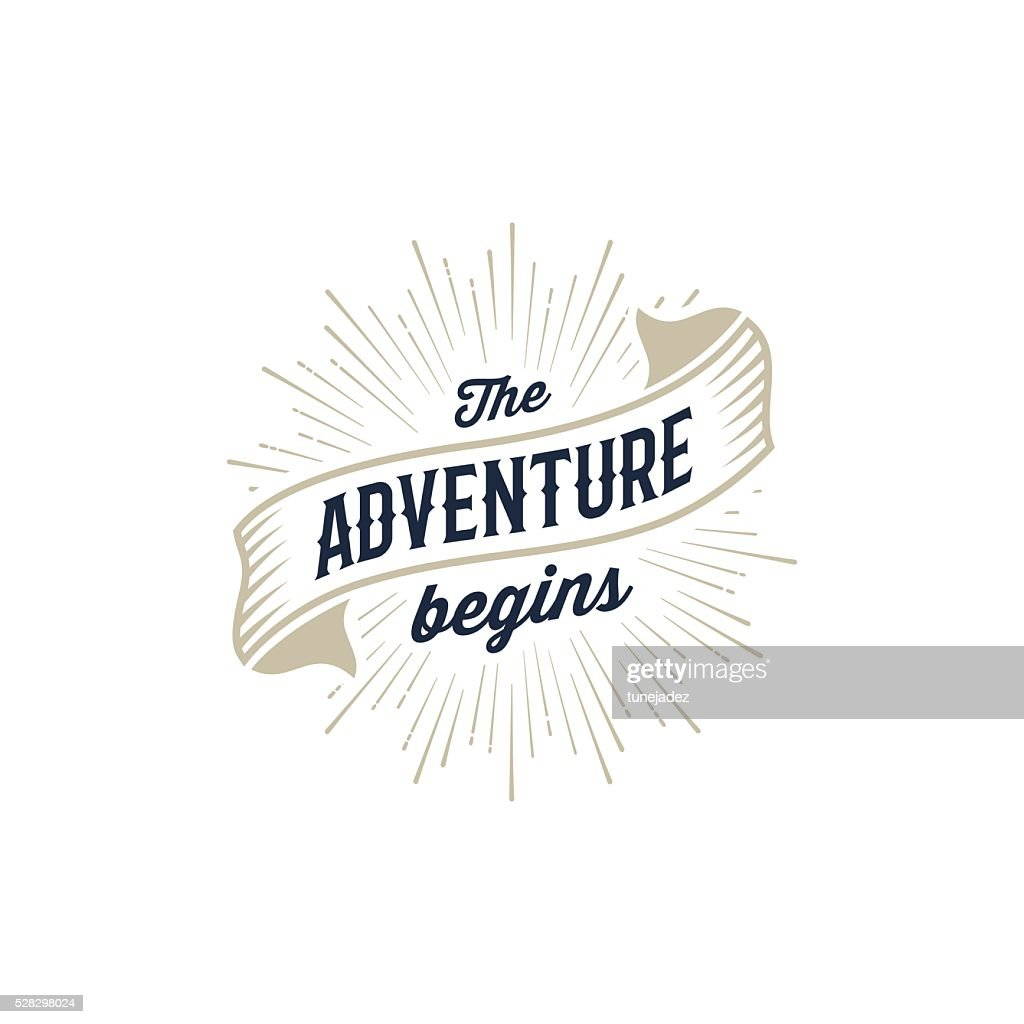 Adventure begins gold