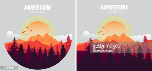 adventure - mountain stock illustrations