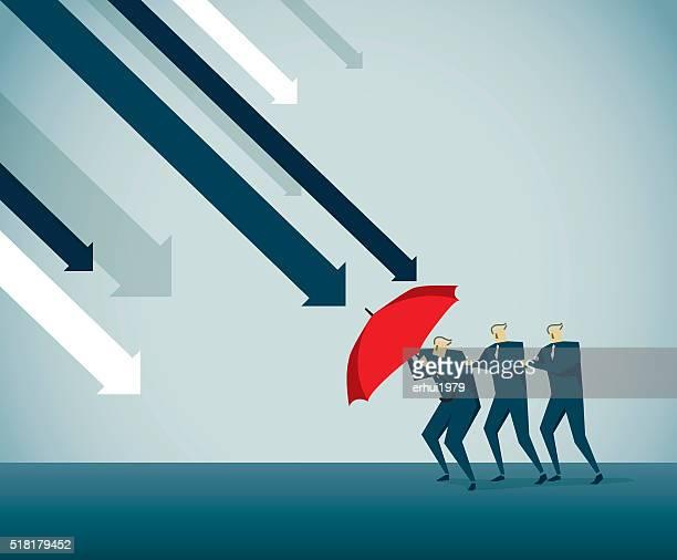 adversity - deterioration stock illustrations