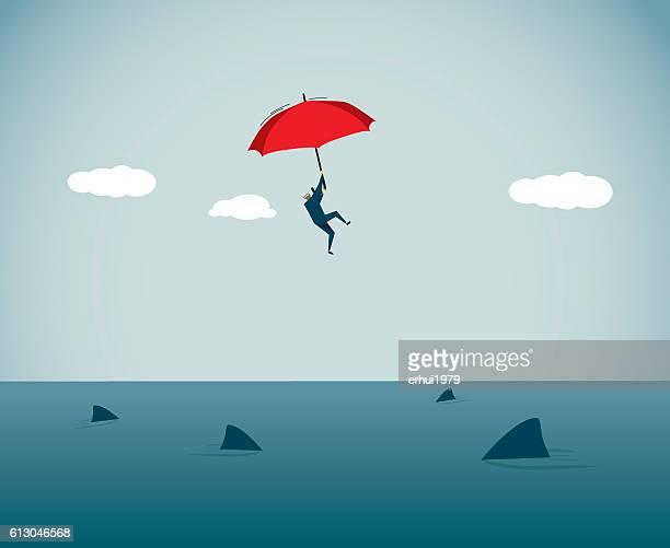illustrations, cliparts, dessins animés et icônes de adversité - requin