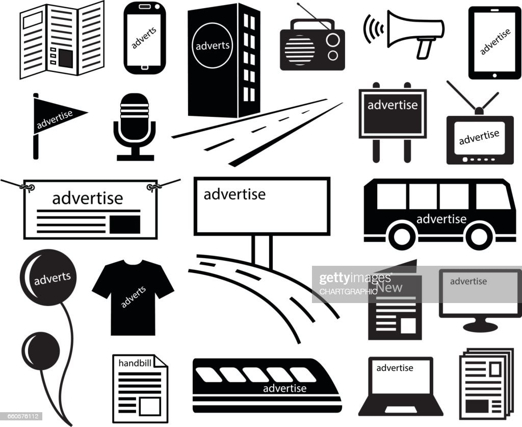 advertise channels media icon