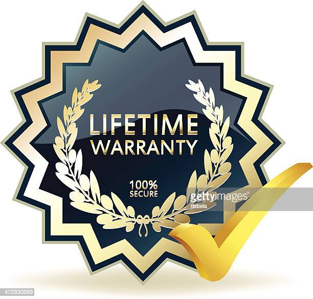 Advertising Lifetime Warranty Badge