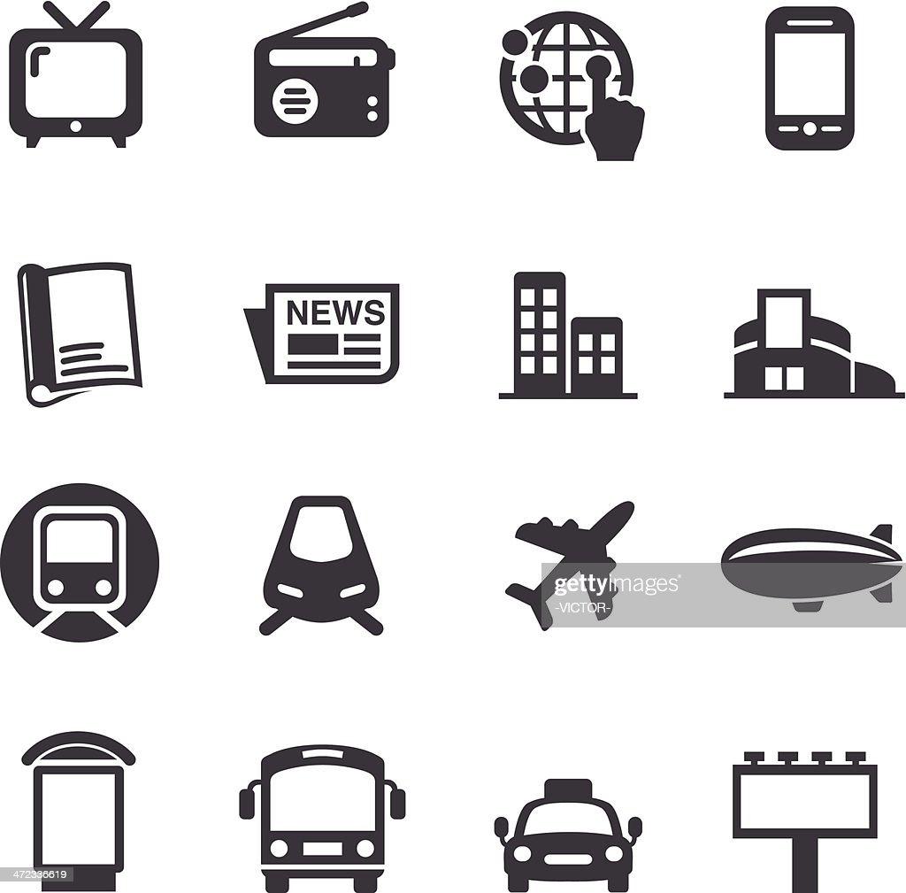 Advertising Media Icons - Acme Series
