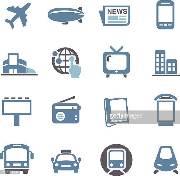 Advertising Media Icons - Conc Series