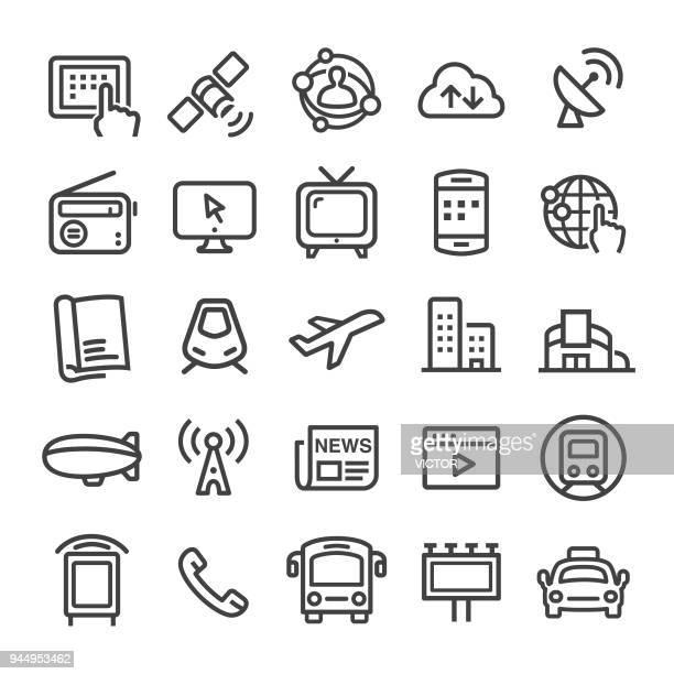 Reclame Media iconen - Slim Line serie