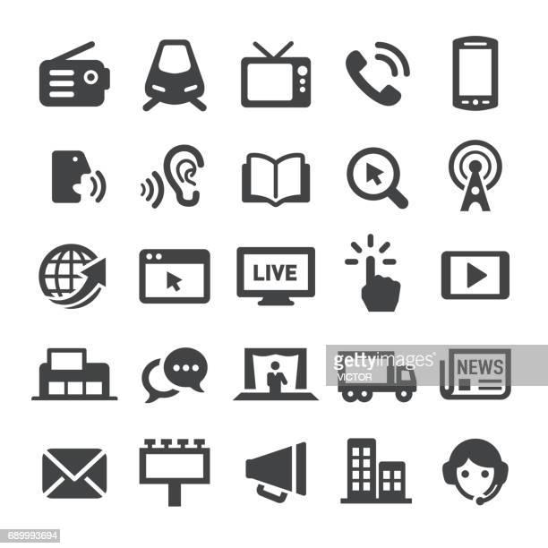 Advertising Methods Icons - Smart Series