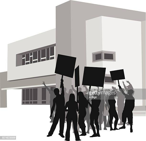 advocacy - protest stock illustrations, clip art, cartoons, & icons