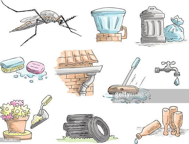 Mosquito Aedes egípcio