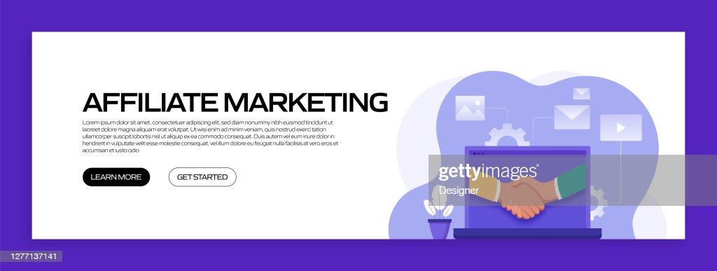 Affiliate Marketing Concept Vector Illustration Für ...
