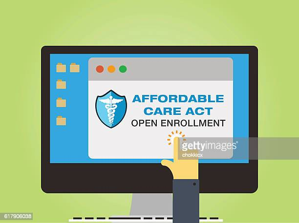 affordable care act - patient protection and affordable care act stock illustrations