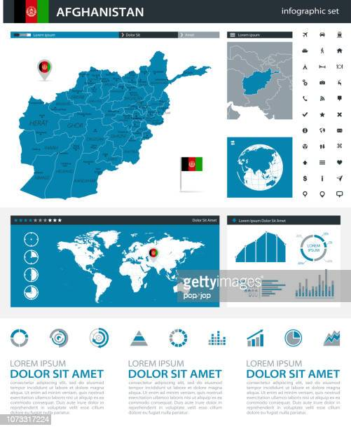 34 - Afghanistan - Blue Gray Infographic q10