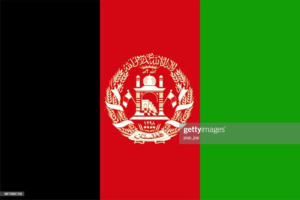 Afghanistan - Flag Vector Flat Icon