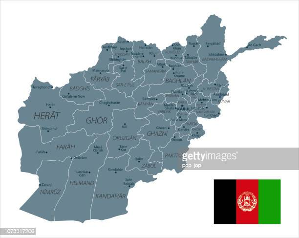 30 - Afghanistan - Grayscale Isolated 10