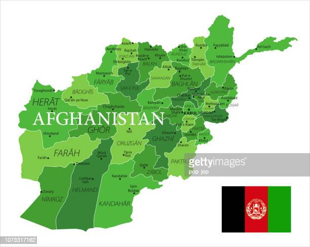 15 - Afghanistan - Green Isolated 10
